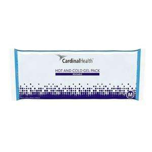 "Cardinal Health Reusable Hot/Cold Gel Pack, Medium, 4-1/2"" x 10-1/2"" - Advanced Healthmart"