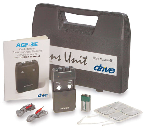 DRIVE AGF-3E ECONOMY DUAL CHANNEL TENS - Advanced Healthmart
