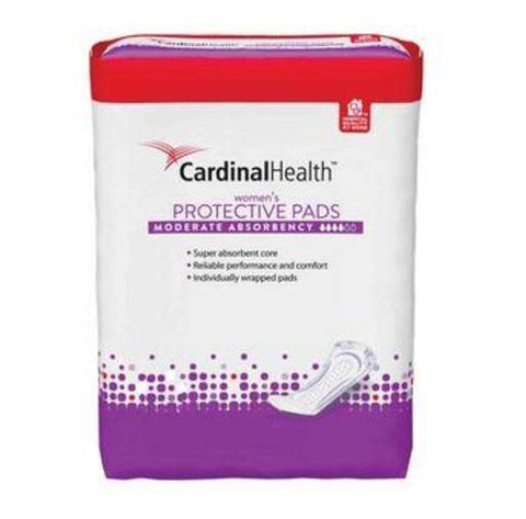 "Cardinal Health BCPMD90 Economy Adult Bladder Control Pad, Moderate Absorbency, 3.75"" x 11"" Pk/20 - Advanced Healthmart"