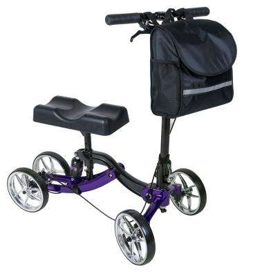 Lumex S8 Shock Absorber Knee Walker, Purple LX8000PU