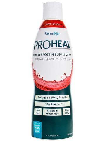 ProHeal Sugar Free Clear Liquid Whey Protein + Collagen 30 dose Bottle, PRO1000