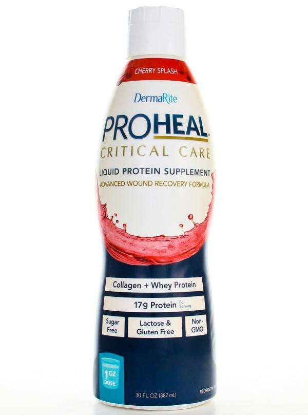 ProHeal Critical Care Clear Liquid Whey Protein + Collagen cs/96 1oz packets, PRO3000U - Advanced Healthmart