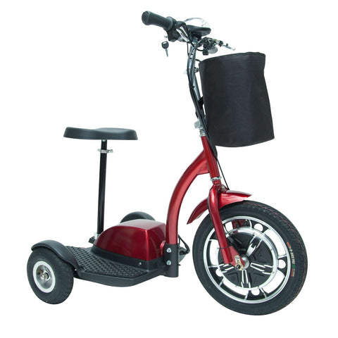 Drive Medical ZooMe3 3-Three Wheel Recreational Power Scooter - Advanced Healthmart