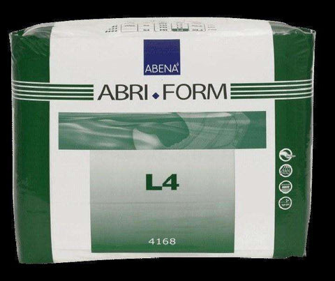 Abena 4168 Abri-Form Comfort L4 Absorbent Adult Brief, Large Pack or Case - Advanced Healthmart