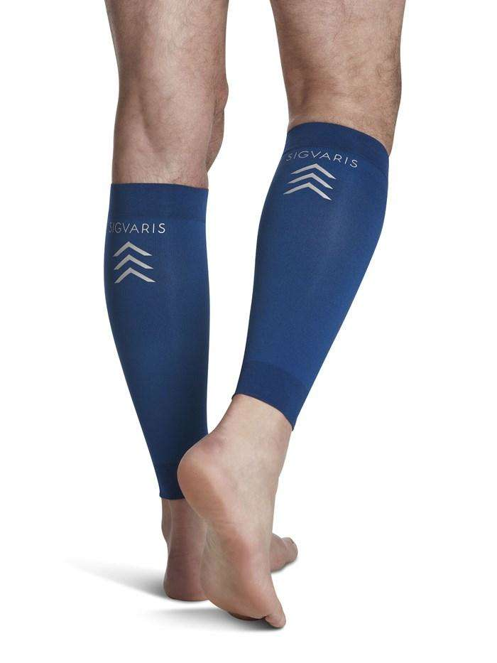 SIGVARIS 412V Series Blue Performance Compression Calf Sleeve 20-30mmHg, Pick Your Size