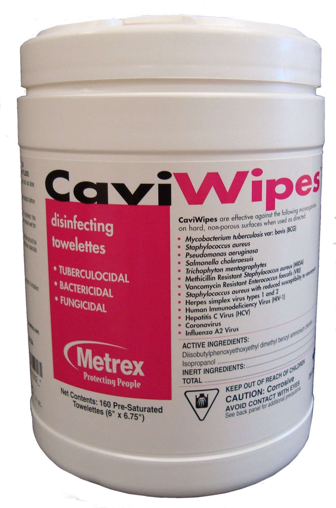 METREX Cavi wipes Disinfectant Cleaner 13-1100 cs/12 - Advanced Healthmart