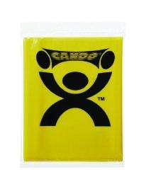 CanDo Latex Free Pre-cut X-Light Exercise Resistance Band, Yellow