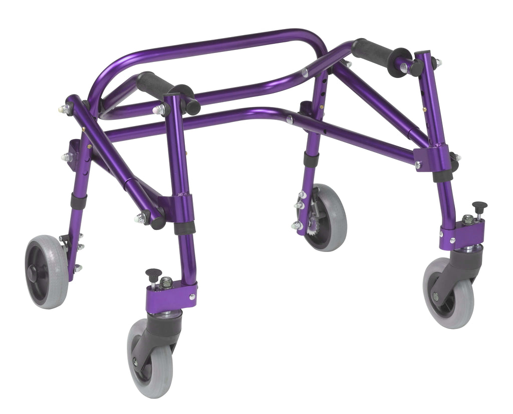 Nimbo 2G Lightweight Posterior Walker, Extra Small, Wizard Purple - Advanced Healthmart
