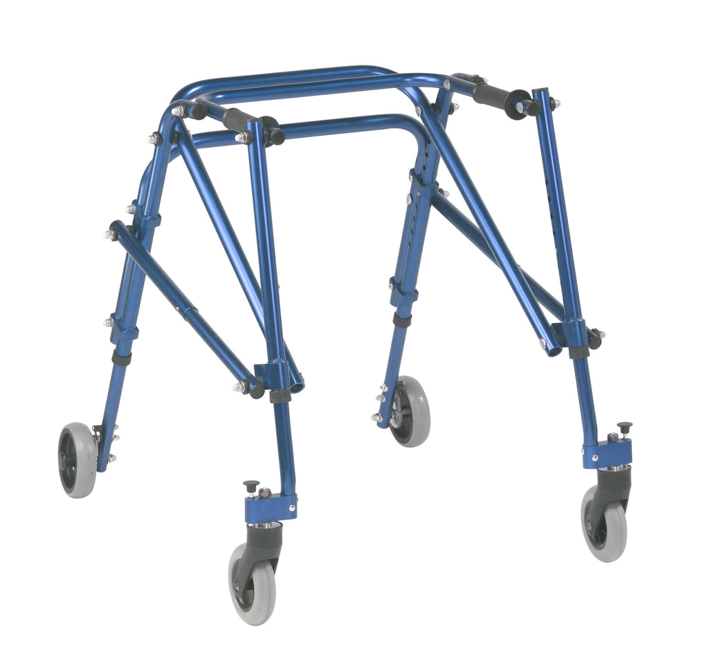 Nimbo 2G Lightweight Posterior Walker, Medium,  Knight Blue - Advanced Healthmart