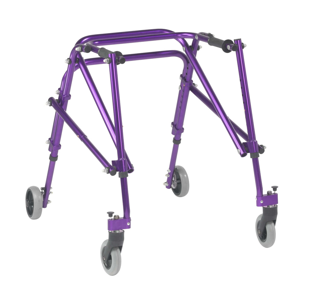 Nimbo 2G Lightweight Posterior Walker, Medium, Wizard Purple - Advanced Healthmart