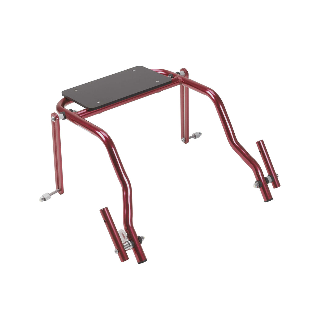 Nimbo 2G Walker Seat Only, Large, Castle Red - Advanced Healthmart