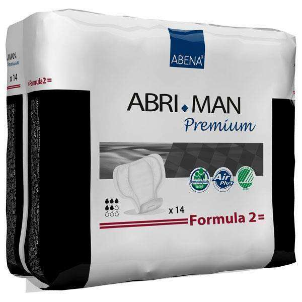 Abena 41007 Abri-Man Male Guard Formula 2 Liner pk/14 - Advanced Healthmart