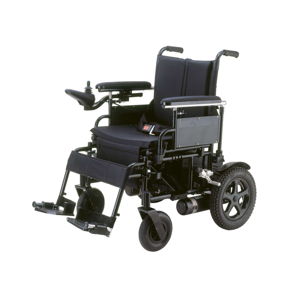 "Cirrus Plus EC Folding Power Wheelchair with 20"" seat, cpn20fba - Advanced Healthmart"