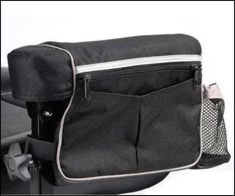 Drive Medical AB1010 Power Mobility Armrest Bag, For use with All Drive Medical Power Wheelchairs - Advanced Healthmart