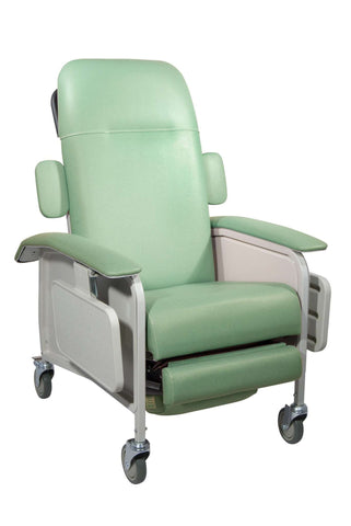 Drive Medical d577-j Clinical Care Geri Chair Recliner, Jade - Advanced Healthmart