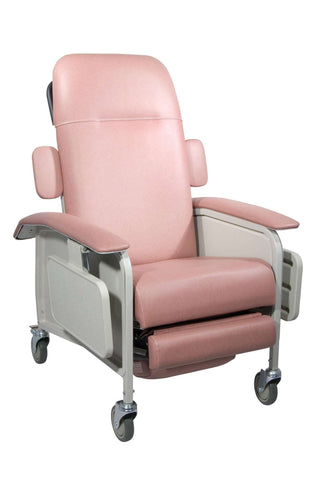 Drive Medical d577-r Clinical Care Geri Chair Recliner, Rosewood - Advanced Healthmart