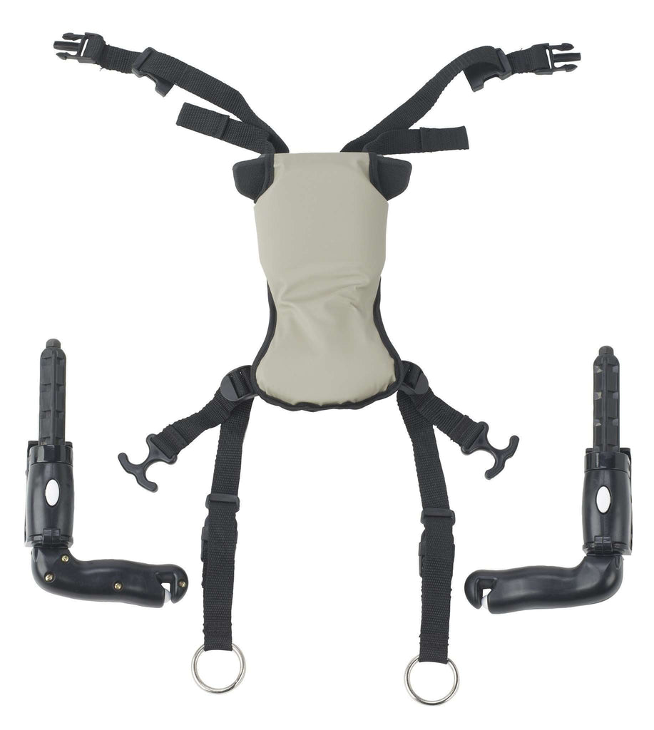 Drive Medical tk 1070 l Trekker Gait Trainer Hip Positioner and Pad, Large - Advanced Healthmart
