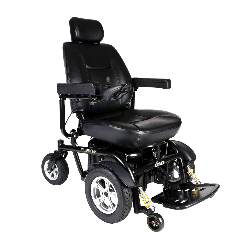 "Trident HD Heavy Duty Power Chair with 24"" seat - Advanced Healthmart"