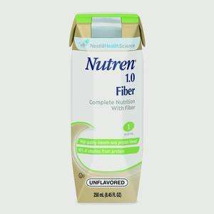 NESTLE 9871616056 NUTREN 1.0 W/FIBER UNFLAVORED 24/CS - Advanced Healthmart