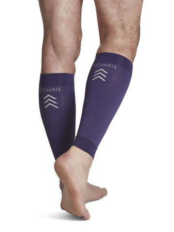 SIGVARIS 412V Series Purple Performance Compression Calf Sleeve 20-30mmHg, Pick Your Size