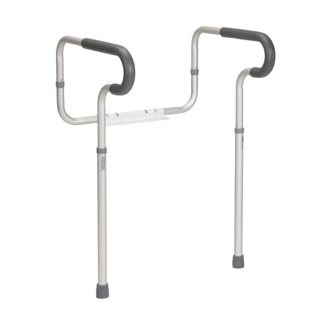 Drive rtl12000 Toilet Safety Frame with Padded Armrests - Advanced Healthmart