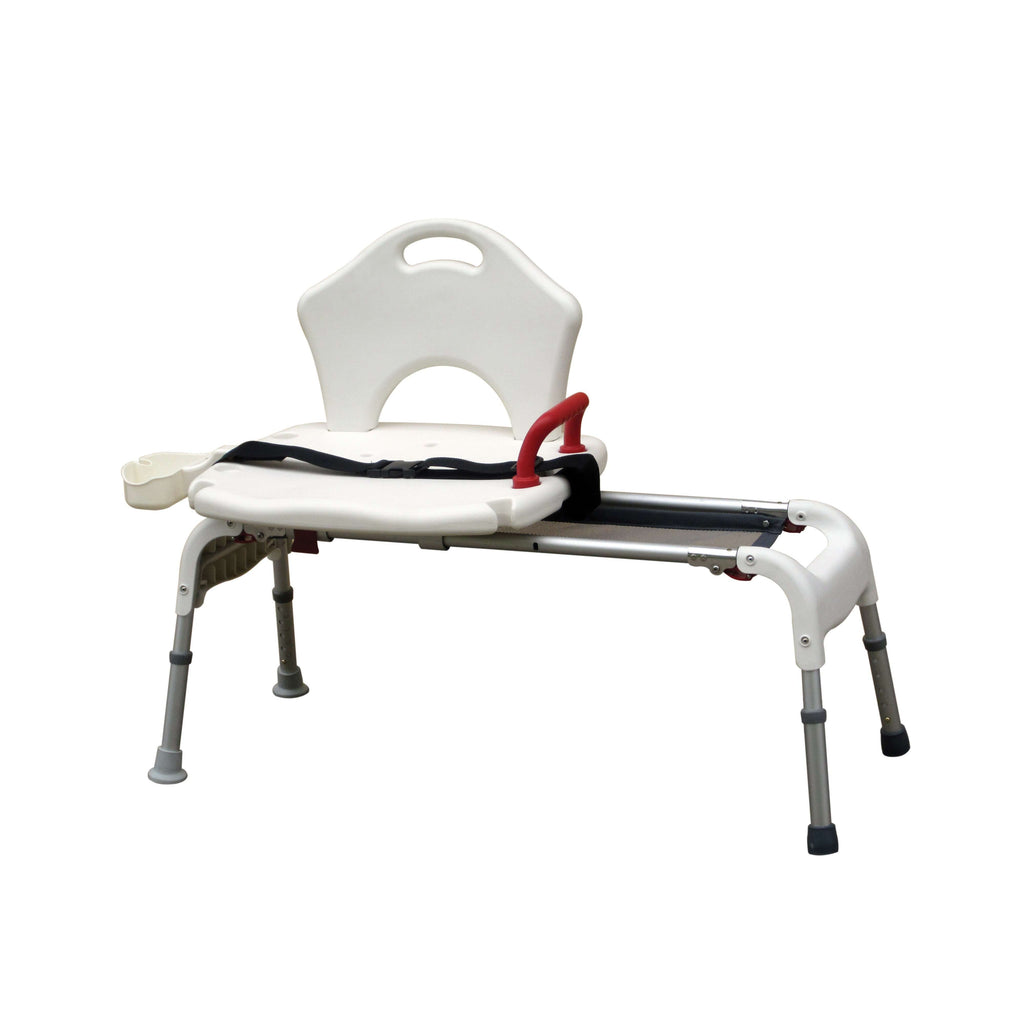 Drive rtl12075 Folding Universal Sliding Transfer Bench - Advanced Healthmart