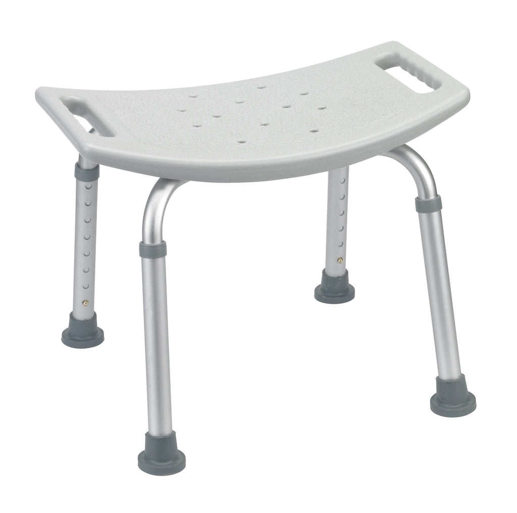 Drive rtl12203kdr Bathroom Safety Shower Tub Bench Chair, Gray - Advanced Healthmart
