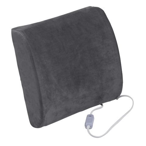 Drive Medical rtl2017ctl Comfort Touch Heated Lumbar Support Cushion - Advanced Healthmart