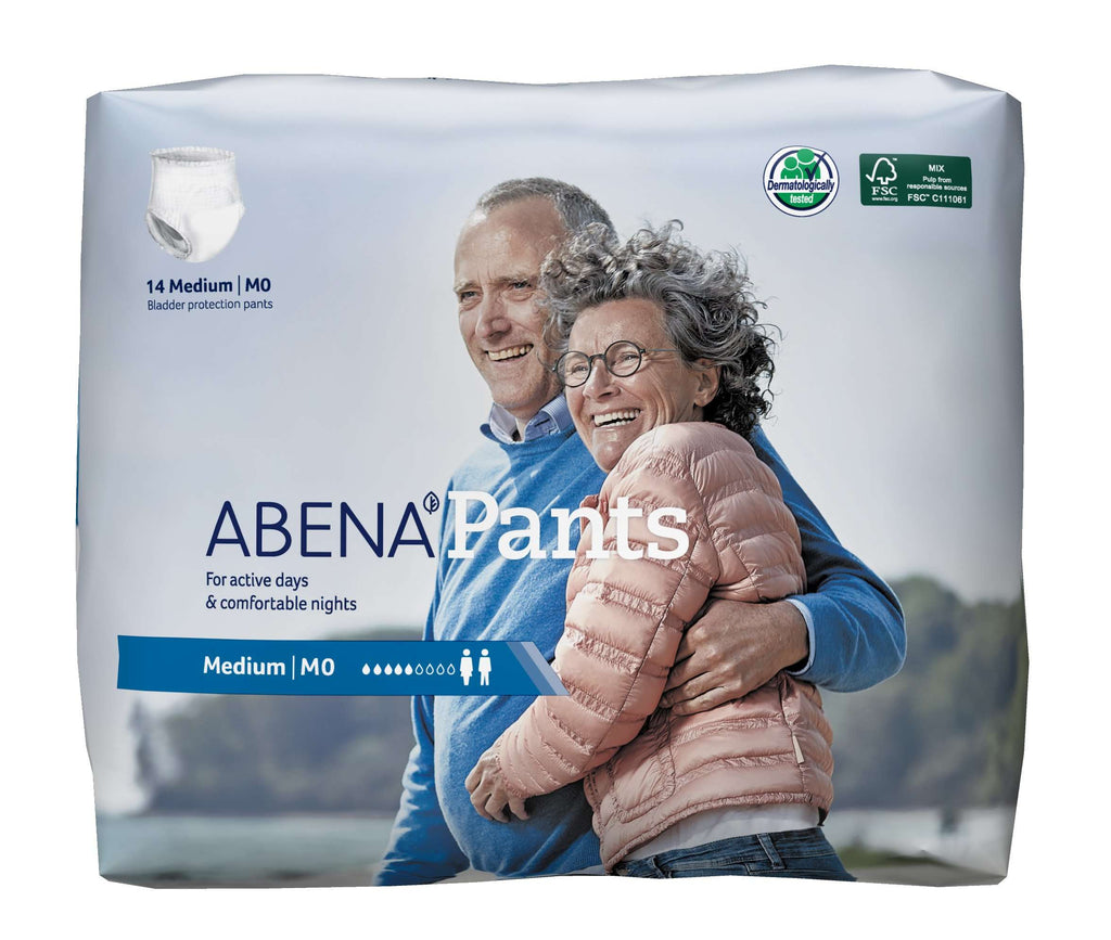 Abena Mod Absorbency Pull on Pants M0 MED (14/Pack) 1000017173