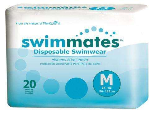 Tranquility Swimmates 2845 Disposable Absorbent Swimwear Size M pk/20 - Advanced Healthmart