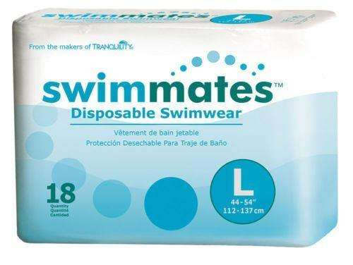 Tranquility Swimmates 2846 Disposable Absorbent Swimwear Size L pk/18 - Advanced Healthmart
