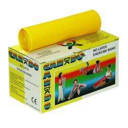 CanDo X-Light Exercise Resistance Band Rolls, Yellow