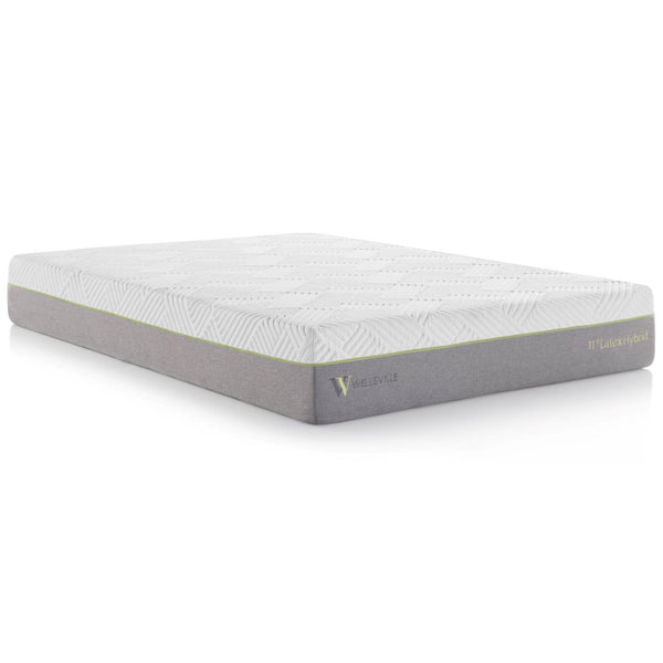 "Premium 11"" Latex Hybrid Mattress"
