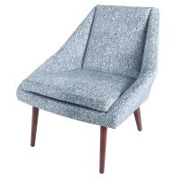 Enzo Accent Chair - Herringbone