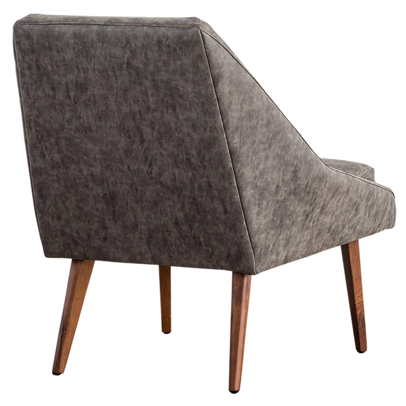 Enzo Accent Chair - Vegan Leather