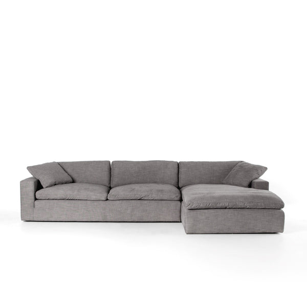 Plume 2pc Sectional - Right Arm Facing Chaise