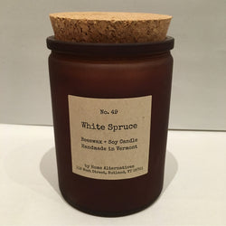 White Spruce Candle #49