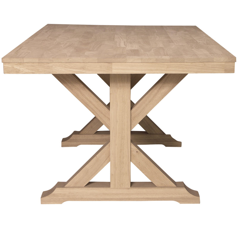 X-Trestle Dining Table