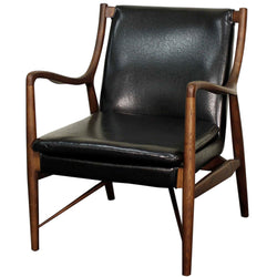 Hardy Black Arm Chair