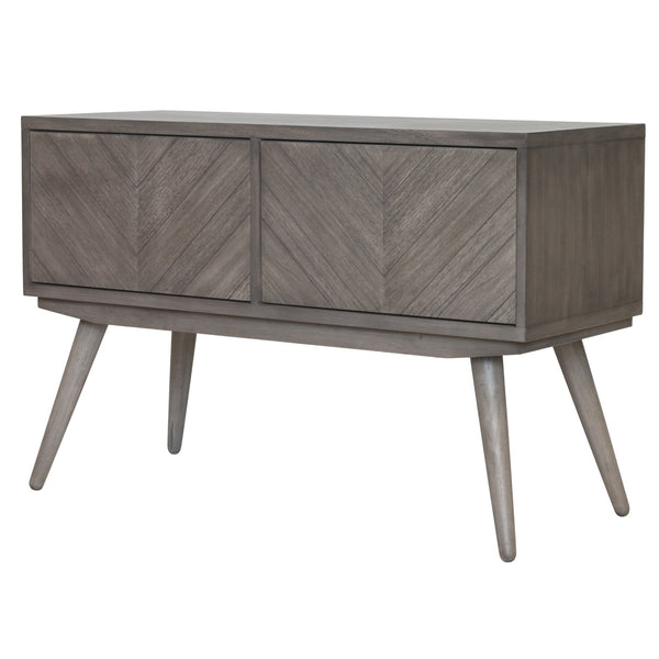 Piero Chevron High Cabinet