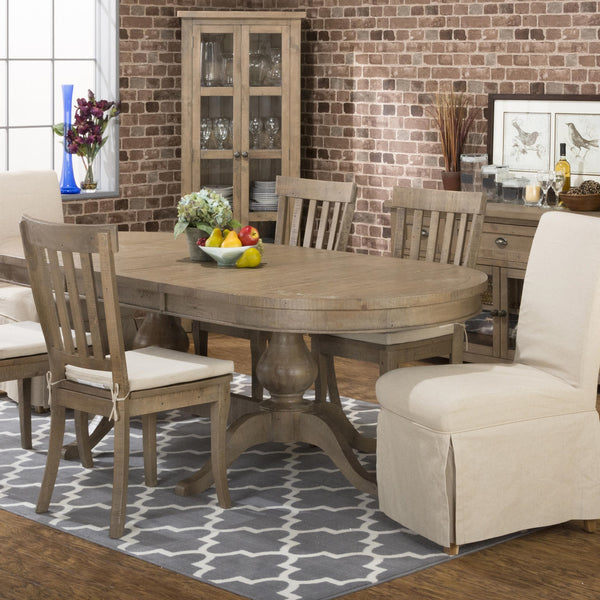 Slater Double Pedestal Table