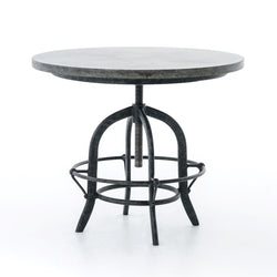 Theron Crank End Table