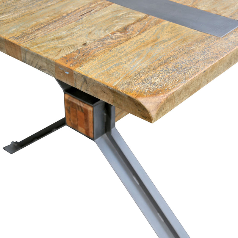 Modern Industrial X Table