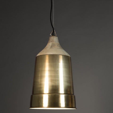 Dutchbone Wood Top Pendant Lamp