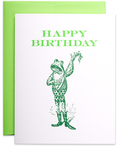 Happy Birthday Frog