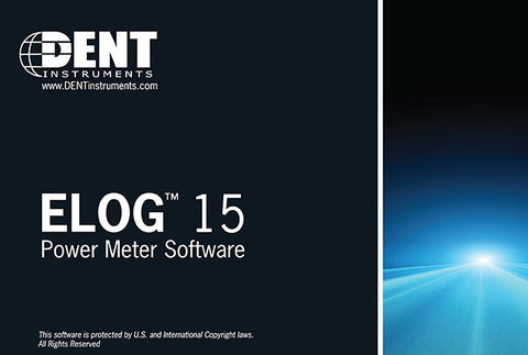 ELOG Data Analysis Software from DENT Instruments