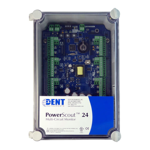 PowerScout 24 Board Layout and Mounting Dimensions