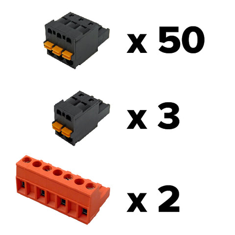 Replacement connector set for PowerScout 48 HD