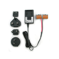 Wall Transformer and Power Cable for Powering 4 RoCoil mV CTs