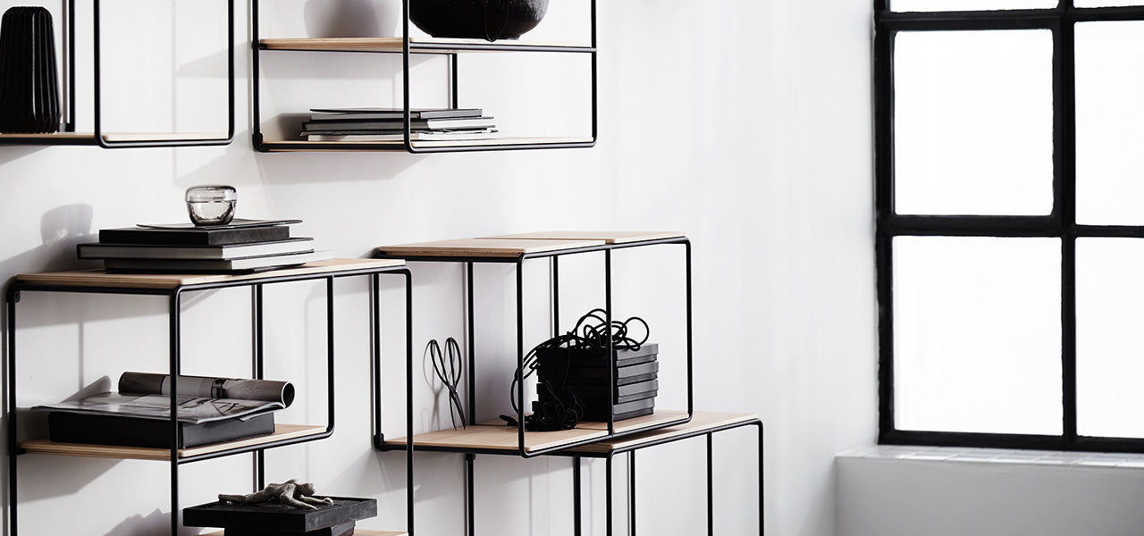 Anywhere Contemporary Shelving System